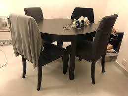 Free Ikea Bjursta Dining Table Chairs