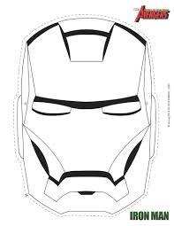 Coloriages à Imprimer Iron Man Page 1