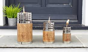 Citronella Oil Lamps Uk by Garden Oil Torches Set Of 3 Outdoor Oil Torches Oil Lamps