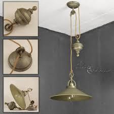 höhenverstellbare hängeleuchte rustikal bronze antik