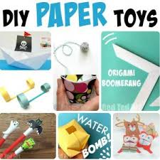 Easy Paper Crafts For Kids And Adults