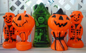 Vintage Halloween Blow Molds Craigslist by Old Glory Cottage My Weekend Finds