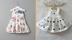 kids summer simple cotton frock designs easy to make at home youtube