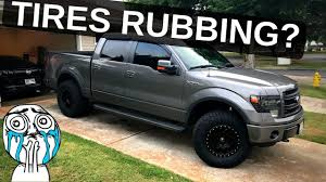 100 See Tires On My Truck Tire Rub How To Fit 35 On Your F150 YouTube