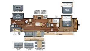 Jayco 2014 Fifth Wheel Floor Plans by 2018 Jayco Eagle 347bhok Model
