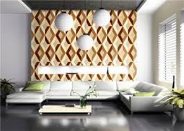 dreidimensionale moderne geometrische muster tapete im