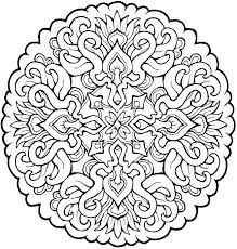 Coloring Pages Mandala For Adults Together With Adult Printable