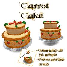Eat Me Carrot cake Birthday cake