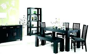 Tall Dining Room Chairs Table Exciting Black