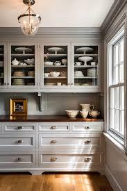 Love The Millwork Backsplash Grey Butlers Pantry