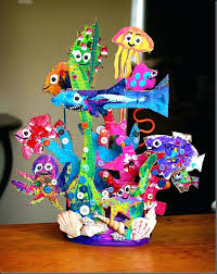 Art And Craft Work From Waste Materials Crafts Ideas Making Best Out Of Wall