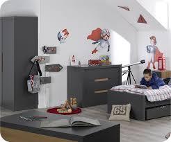 chambre enfant gris et chambre enfant bow gris anthracite