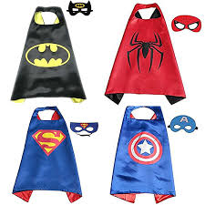 Best Gift For Birthday Party】Superhero Costumes Toddlers Kids 4Pcs