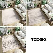 details zu teppich kurzflor modern wellen linien holzboden muster wohnzimmer schlafzimmer
