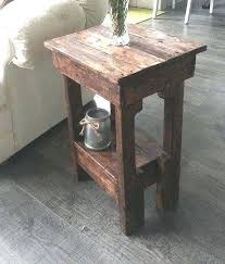 Coffee Table Made With Crates Make End Tables From Pallets Side Dog Crate Diy