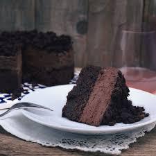 vegane schokosahne torte
