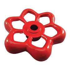 Decorative Hose Bib Handles by Ace Red 16 Point Wheel Handle With Round Hole Valve Parts