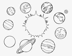 Planets Coloring Pages Space Pictures For Kids To Color