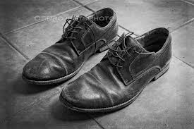 Old Shoes Photography Black And White