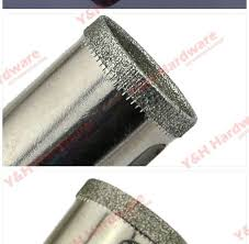 1 pcs 110 mm diamond coated glass marble hole saw cutter drill bit