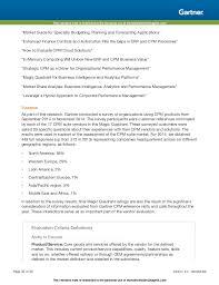 Best Help Desk Software Gartner by Gartner Magic Quadrant For Corporate Performance Management Suites