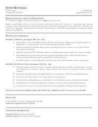 Banking Resume Format Banker Sample Resumes