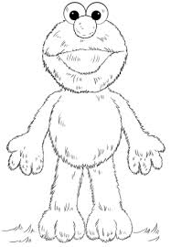 Click To See Printable Version Of Elmo Coloring Page