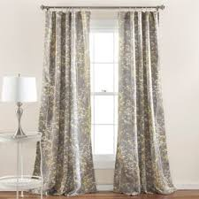 buy yellow window treatments from bed bath beyond