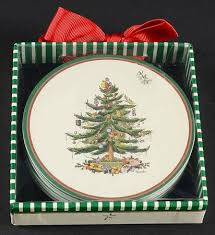 Spode Christmas Tree Mug And Coaster Set by Spode Christmas Tree Green Trim At Replacements Ltd Page 17