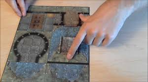 dungeons and dragons tiles master set loot d d castle grimstead dungeon tiles unboxing review