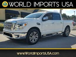 Used 2017 Nissan Titan Crew SL 2WD For Sale In Jacksonville FL ... Used 2014 Chevrolet Silverado 1500 For Sale Jacksonville Fl 225706 2006 Dodge Ram Trust Motors Cars Princeton Forklift For Florida Youtube 2012 Lvo Vnl670 Tandem Axle Sleeper 513641 Peterbilt Trucks In On Dump Truck Brokers Arizona Together With Values Also Quad Plus Intertional 4300 Van Box 1975 Harvester Scout Sale Near Jacksonville Ford Current Inventorypreowned Inventory From Stover Sales Inc Florida Jax Beach Restaurant Attorney Bank Hospital Mobile Billboard In Traffic Displays Llc