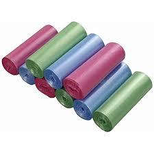 ordate 5 liter rosa grün blau mülltüten badezimmer müllsack