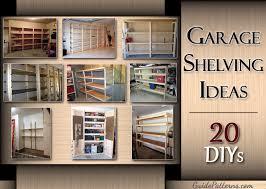 20 diy garage shelving ideas guide patterns garage shelving plans