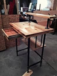 Reclaimed Wood Pallet Desk