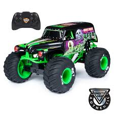 100 Monster Truck Remote Control Jam Official Grave Digger 110 Scale With Lights And Sounds For Ages 4 And Up Walmartcom
