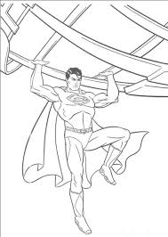 Good Superman Coloring Page 60 In Pages For Adults With