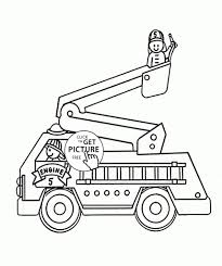 Fire Truck Coloring Games New Firetruck Drawing At Getdrawings ...