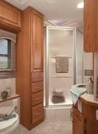 Wonderful Rv Bathroom Makeover Design Ideas 45