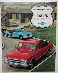 100 1968 Chevy Trucks For Sale Chevrolet Pickups ChassisCabs And Stakes S Brochure