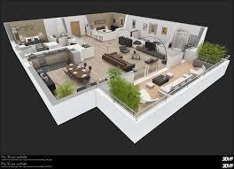 villa moderne plan 3d meilleure inspiration pour votre design de