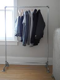 Decorative Metal Garment Rack by Diy Projects U0026 Crafts Pipe Rack Plumbing Pipe And Galvanized Pipe