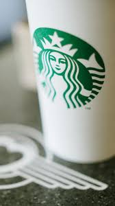 Starbucks Coffee Cup Tilt Shift Android Wallpaper