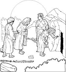 Bible Easter 01 Coloring Page