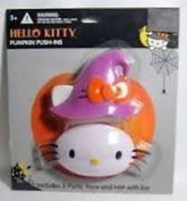 Pumpkin Push Ins Decorating Kit by Hello Kitty Sanrio Pumpkin Push Ins Halloween Decor Accessory By