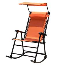 Sundale Outdoor Folding Rocking Lounge Patio Garden Pool Chair With Pillow  And Sunshade Canopy, Orange Folding Rocking Chair Foldable Rocker Outdoor Patio Fniture Beige Outsunny Mesh Set Grey Details About 2pc Garden Chaise Lounge Livingroom Club Mainstays Chairs Of Zero Gravity Pillow Lawn Beach Of 2 Cream Halu Patioin Gardan Buy Chairlounge Outdoorfolding Recling 3pcs Table Bistro Sets Padded Fabric Giantex Wood Single Porch Indoor Orbital With