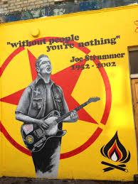 Joe Strummer Mural Notting Hill by Londra U2013 Batı Ve Güney Yolculukta