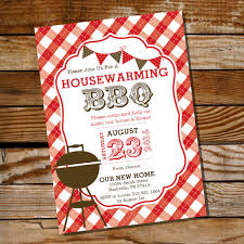 Adult Party Ideas Housewarming BBQ Invitation
