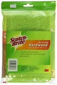 Weiman Floor Polish Ingredients by Amazon Com Scotch Brite Hardwood Floor Mop Refill Microfiber
