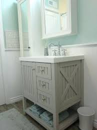 Lovely Farmhouse Style Bathroom Vanity Or Rustic Within Ideas 22