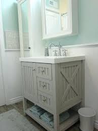 Lovely Farmhouse Style Bathroom Vanity Or Rustic Within Ideas 22